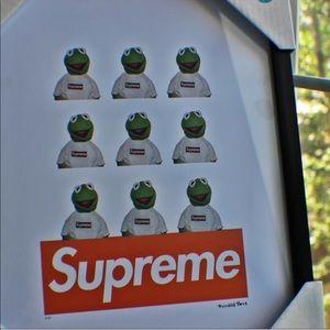 Supreme x Kermit the Frog Fairchild Paris